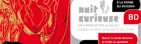 CONCOURS 15 invitations  gagner pour la Nuit Curieuse BD