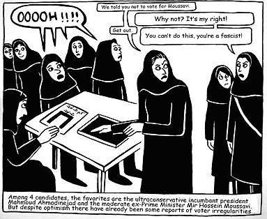bande dessinee iran