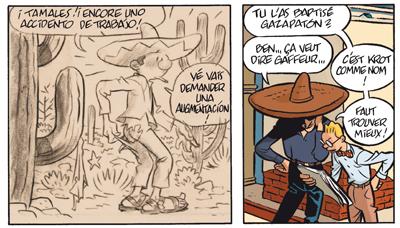 Gringos Locos: Franquin, Morris y Jijé en America, por Yann y Schwartz (PREVIEW Y COMENTARIOS) Gringos_gaston
