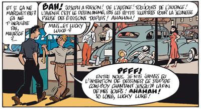 Gringos Locos: Franquin, Morris y Jijé en America, por Yann y Schwartz (PREVIEW Y COMENTARIOS) Gringos_lucky