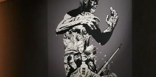 Lyon BD mordu des zombies de Charlie Adlard